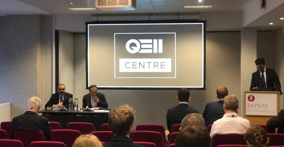 Ash Kotwal at the QE2